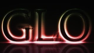 GLO | Glowing Text Effect | Photoshop Tutorial