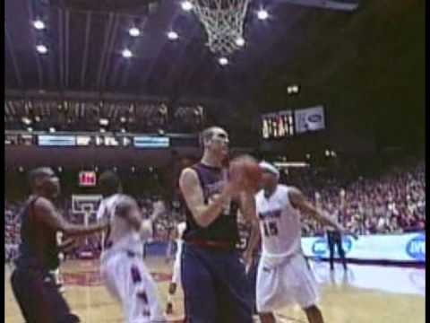 Dayton Flyers Freshman Luke Fabrizius makes it rain with three's