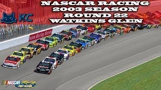 Gaming :Nascar Racing 2003 Season (PC) 🚗 Round 22 Watkins Glen