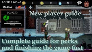 Change a homeless survival experience guide for new players and tips