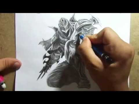 League of Legends drawing champions Zed