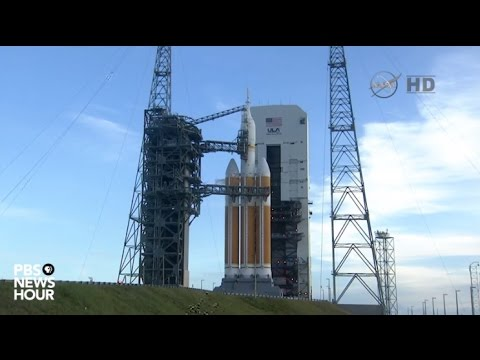 Watch: NASA launches Orion space capsule aboard Delta IV