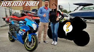 Buying Her New Sport Bike!!!