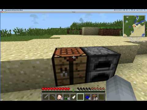 Minecraft tekkit og mange andre mods ep 1 (Hvad er flaxi seeds?)