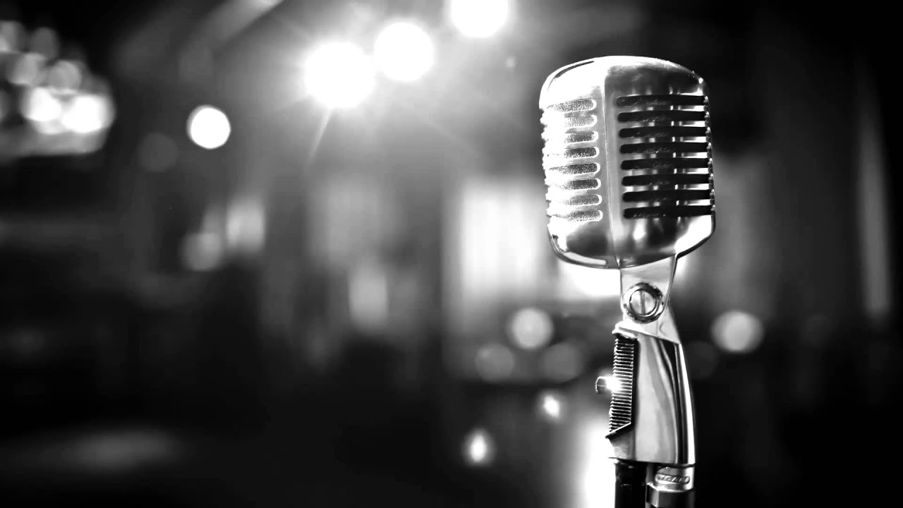 Old school microphone wallpaper for Old school house music classics