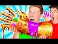 SUPERHERO FOOD ART CHALLENGE & How To Make The Best Giant DIY Edible Avengers Movie Art