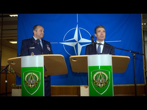 NATO Secretary General with Supreme Allied Commander Europe - Joint Press Conference, Part 1/2