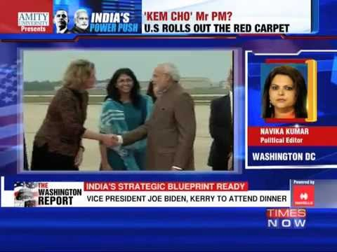 President Barack Obama rolls out the red carpet for Narendra Modi