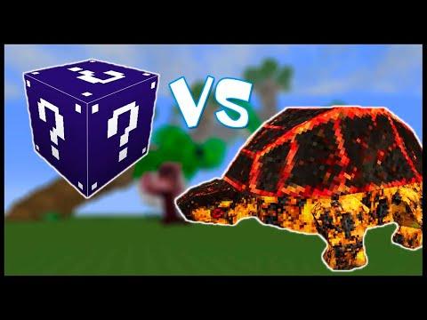 Морской Лаки Блок VS Лавовый Монстр! - Лаки Битва #2