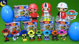 Lots of Paw Patrol Surprise Toys Blind Bags Series 2 Ryan's World Surprise Eggs Mix and Match Toys
