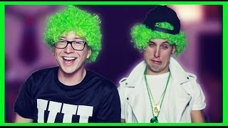 Download Lagu Drunk St. Patrick's Day Challenge (ft. Sawyer Hartman) | Tyler Oakley Gratis STAFABAND