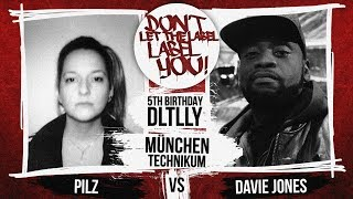 Pilz vs Davie Jones // DLTLLY RapBattle (B.Day#5 // München)