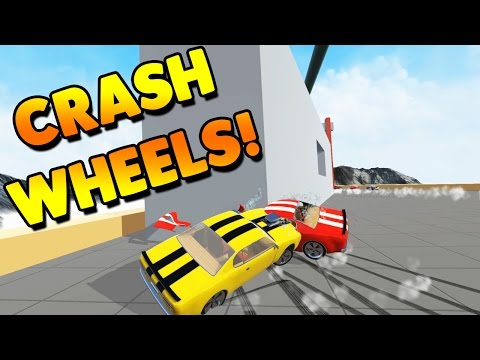 Crash Wheels Game | RACING PHYSICS DESTRUCTION! | Lets Play Crash Wheels Gameplay