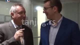 9.1.2017. Vučić se u Indiji sastao sa Rogozinom