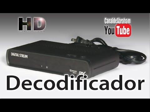 Decodificador o Sintonizador HD Digital Stream