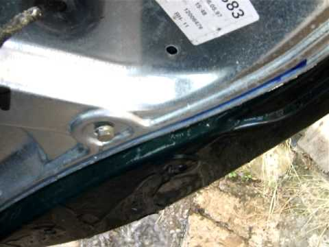 Water Ingress Faulty Door Seals Youtube