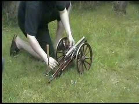 Ardesa black powder cannon Vorderlader-Kanone