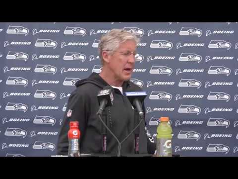 Seahawks Head Coach Pete Carroll OTAs Press Conference