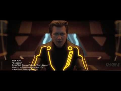 Daft Punk - Derezzed: Tron Legacy Music Video