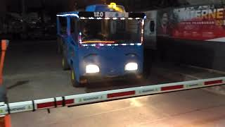 Tayo little bus in real life | odong odong mobil tayo