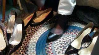 super loose toe cleavage Breckelle flats wearing sheer sandalfoot hose 2 may17 005