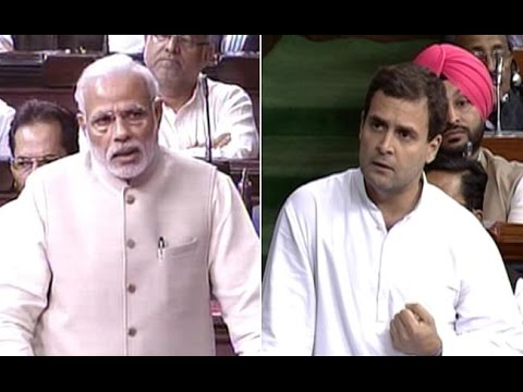 PM Narendra Modi's 10 Response On Rahul Gandhi In Lok Sabha | Full Video Footage