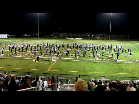 Thunder of the East Marching Band at Webster Schroeder High School 2012