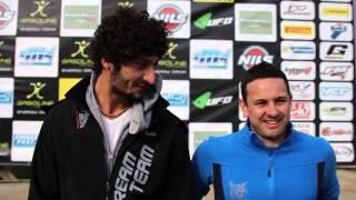 Nicola Tramaglino e Marco Ceresa: sidecar cross