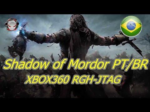 Instalando Shadow of Mordor no Xbox 360 RGH-JTAG (PT-BR)