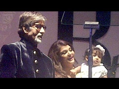 Aaradhya Bachchan Makes Her First Public Appearance video