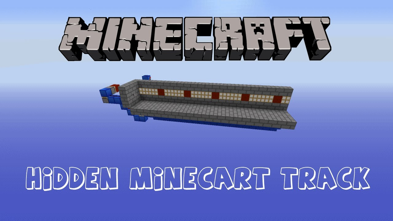 Minecart Tracks Hidden Minecart Tracks