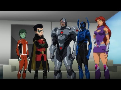 Justice League vs Teen Titans Official Trailer