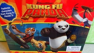 2016 Kung Fu Panda 3 DreamWorks Movie Phidal Magnetic Drawing Kit & Storybook - Book & Toy