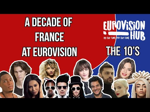 A decade of France at Eurovision (Reaction Video)