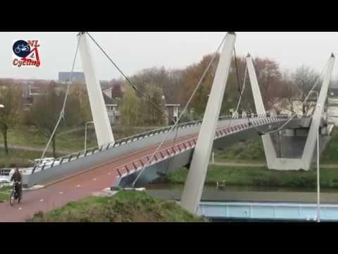 Tilburg cycle bridge (Netherlands)