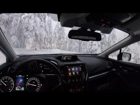 Хвалим Subaru XV на лесной дороге