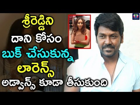 Sri Reddy Got A Chance To Act In Raghava Lawrence Movie ! | Latest Updates | Telugu Full Screen