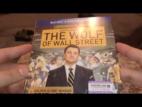 The Wolf of Wall street and 47 Ronin BR unboxing