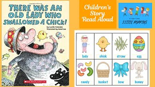 There Was An Old Lady Who Swallowed a Chick | Children's Story Read Aloud