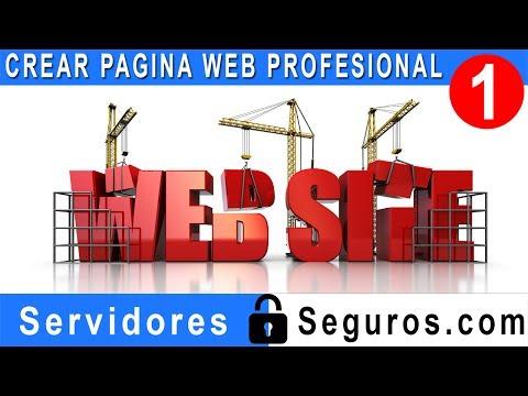 CREAR PAGINA WEB PROFESIONAL FACIL Y RAPIDO PARTE 1