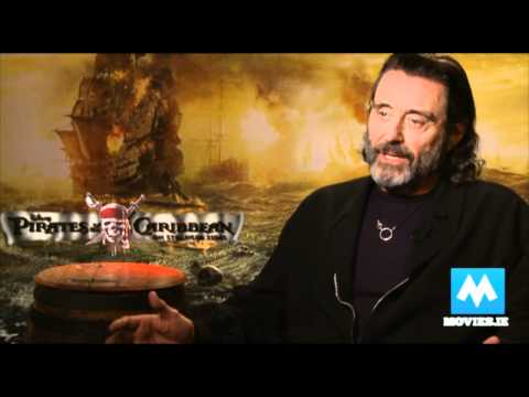 Ian McShane talks Pirates Of The Caribbean - On stranger Tides