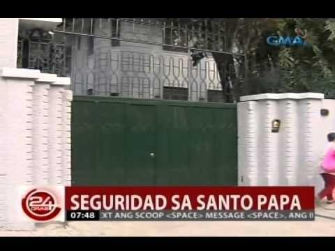 24 Oras: Seguridad sa pagtutulugan ni Pope Francis, plantsado na