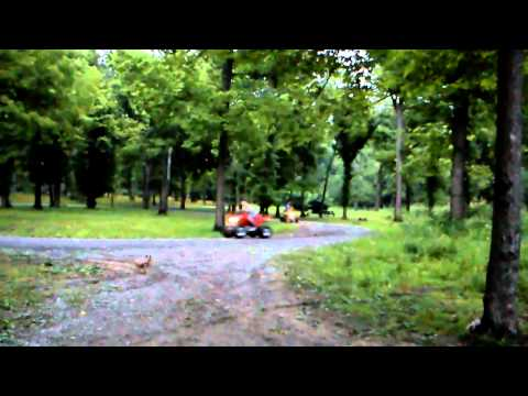 Camping and 4-wheeling in Shawnee national forest