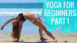 Yoga For Beginners | Sun Salutations for Beginners Part 1