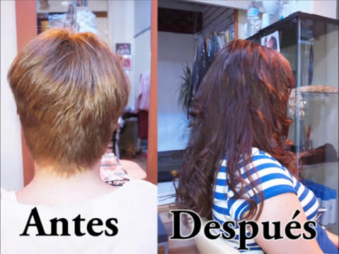 EXTENSIONES CABELLO SUPER CORTO INCREIBLE PERO POSIBLE. HAIR EXTENSION FOR VERY SHORT HAIR