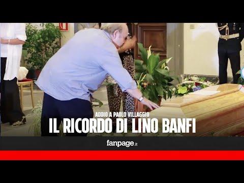 """Morto Paolo Villaggio, Lino Banfi si commuove: """"Non è mai stato invidioso dei colleghi"""""""
