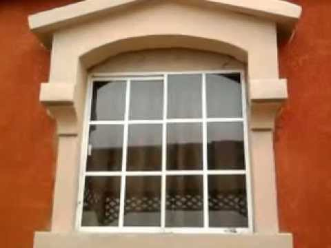 Molduras de unicel en tijuana youtube - Molduras para ventanas exteriores casas ...