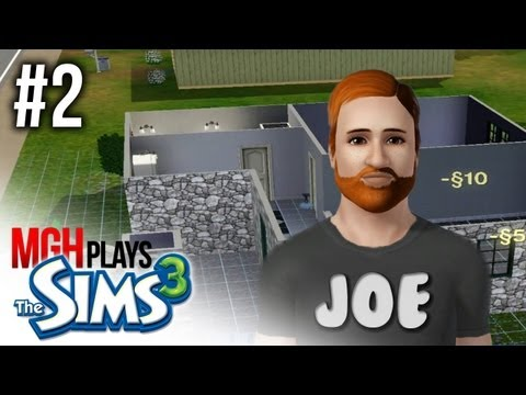 Mgh Plays: Sims 3 - The Journey of Joe King #2 - Home Improvements!