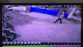 Trộm xe SH ở Hóc Môn