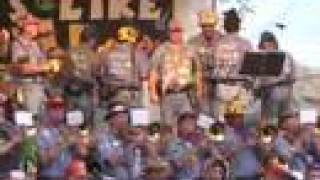 """Beer Barrel Polka"" - Ophir Prison Marching Band"